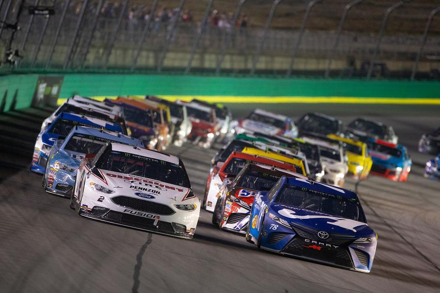 NASCAR events at the Kentucky Speedway in 2020